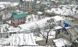 Night tempreature continues dropping in Jammu & Kashmir, Ladakh; Drass coldest at minus 25.4 deg Cel