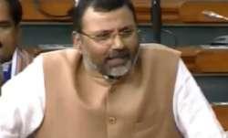 GDP should not be treated as Bible, Ramayan and Mahabharat, says BJP MP Nishikant Dubey