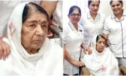 Lata Mangeshkar health latest picture