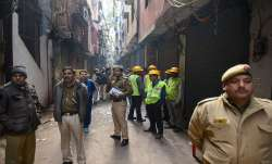 Delhi Fire Tragedy: Police conducts 3D laser scan in Anaj