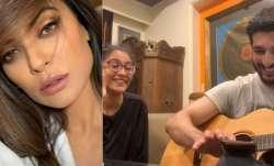 Sushmita Sen is in awe of daughter Renee singing 'Hero' with beau Rohman Shawl. Watch video, Sushmit