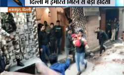 13 hospitalised, 3 students missing after building collapses in Delhi's Bhajanpura