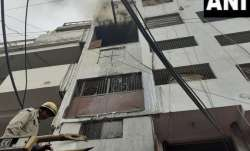 Fire breaks out at shoe factory in Lawrence Road, 26 fire tenders on spot