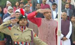 JNU VC, JNU NCC girls, NCC girls, JNU, Jawaharlal Nehru University, National Cadet Corps, M Jagadesh