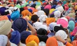 Sikh pilgrims, Panja Sahib, Pakistan, Baisakhi,