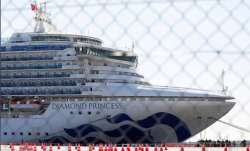 Americans from quarantined cruise ship in Japan flown home