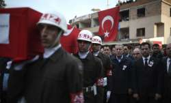 Turkey, Russia talk tensions in Syria as migrants push west