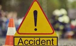 Uttar Pradesh: 14 students injured in bus accident