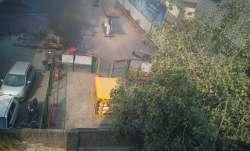 Violence in Delhi.