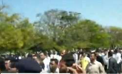 Video: Congress workers fight amongst each other during local election in Chhattisgarh