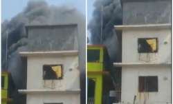 Mira Bhayander building Fire, building Fire, Bhayander building Fire,