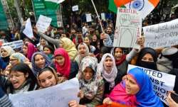 Jamia students allege cops kicked them on private parts, tore their hijab during Feb 10 protest