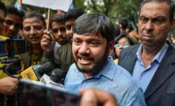 Kanhaiya Kumar's convoy attacked in Bihar