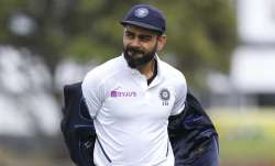 Virat Kohli in Wellington
