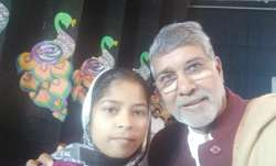 Nobel laureate Kailash Satyarthi gives job to brave orphan