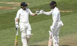 New Zealand were 63 for none at stumps in response to