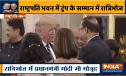 Rajat Sharma with US President Donald Trump