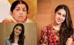 Lata Mangeshkar, Sara Ali Khan, Alia Bhatt pledge donations to PM-CARES, CM relief fund