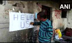 'Help Us': Daily wage painter puts poster outside home amid COVID-19 lockdown