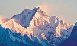 Kanchenjunga mountain ranges