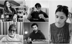 Amitabh Bachchan, Rajinikanth, Priyanka Chopra come up with short film on coronavirus. See video