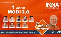 One year of Modi 2.0 government: Union Ministers will be LIVE on India for a day-long event.