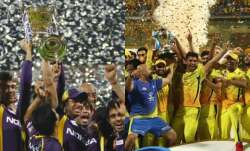 KKR in 2012 and CSK in 2018
