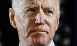 In this March 12, 2020, file photo Democratic presidential candidate former Vice President Joe Biden