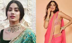 Janhvi Kapoor's saree looks will steal your hearts