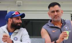 Mohammed Shami recalls fond memories with MS Dhoni