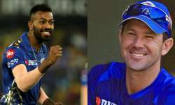 Ricky Ponting a father figure for me: Hardik Pandya opens up on tough phase in IPL 2016