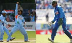 Sourav Ganguly and MS Dhoni
