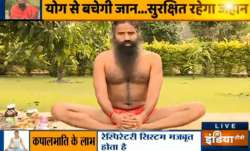 Swami Ramdev shares pranayama, yogasanas effective in building immunity to fight COVID-19