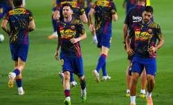Luis Suarez opens on Lionel Messi's exit speculations and Barcelona's Champions League chances