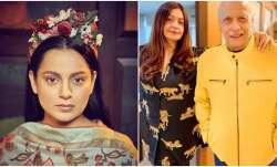 Kangana Ranaut questions Pooja Bhatt on Mahesh Bhatt's involvement in Sushant and Rhea's relationshi