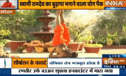 Yoga for Senior Citizens | Swami Ramdev shares how you can keep sugar, BP and joints pain away