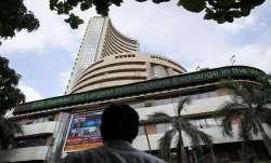 Sensex soars 466 points