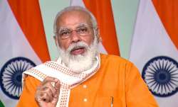 Shocked and saddened by the large explosion in Beirut city: PM Modi