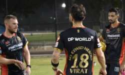RCB captain'My COVID Heroes' jersey
