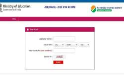 JEE Main 2020 Results: JEE Main Paper 2 Result 2020 declared. Direct link to download