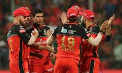 SunRisers Hyderabad vs Royal Challengers Bangalore Live Score IPL: Warner departs early in 164 chase