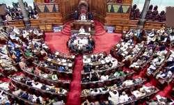 Rajya Sabha members suspended