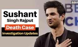 Sushant Singh Rajput Death Case Updates rhea chakraborty sara ali kha