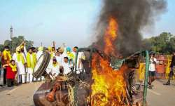 Four more arrested in tractor burning incident near India Gate
