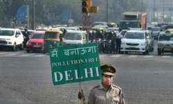 delhi pollution challan