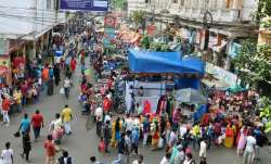Crowds swell at Kolkata markets ahead of Durga puja amid raging pandemic