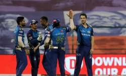 Mumbai Indians dominated KKR as the side registered an easy
