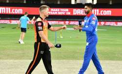 Live Score Sunrisers Hyderabad vs Delhi Capitals IPL 2020: Iyer opts to bowl against SRH