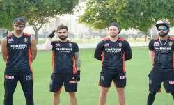 Virat Kohli and his RCB teammates