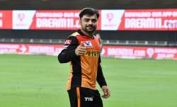 Rashid Khan after putting up an impressive bowling show